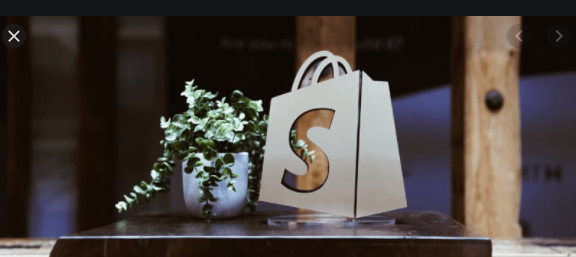 shopify online store