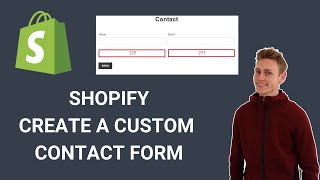 Shopify Custom Contact Form